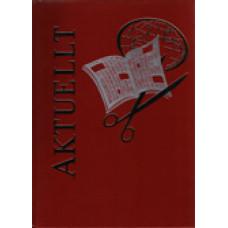AKTUELLT: Aktuellt 1977: En årskrönika i ord och bild. Rött band