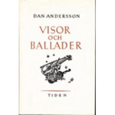 ANDERSSON, DAN: Visor och ballader