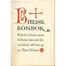 WESTIN, ALEX: Biblisk bönbok