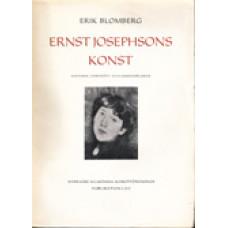 BLOMBERG, ERIK: Ernst Josephsons konst