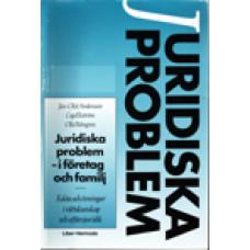 ANDERSSON, JAN-OLOF: Juridiska problem i företag och familj