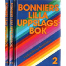 BONNIERS LILLA UPPSLAGSBOK: Bonniers lilla uppslagsbok  A-Ö .3 v