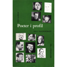 LUNDKVIST, ARTUR: Poeter i profil. 1 poetporträtt